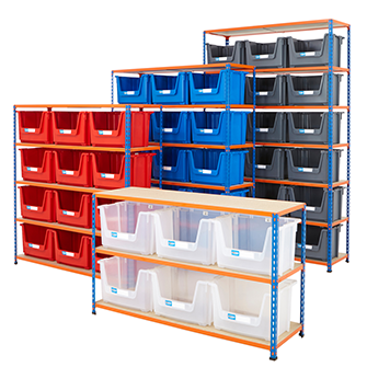 Storage Kits with Bins