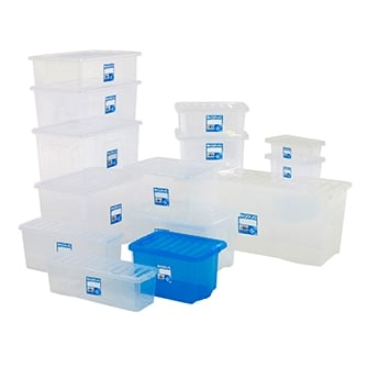 Value Plastic Storage Boxes