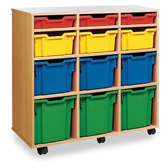 Gratnells Tray Wooden Storage Units