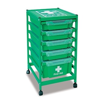 Gratnells Medical Storage Trolleys