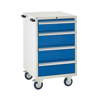 Mobile Euroslide 600 Drawer Cabinets - 600mm wide