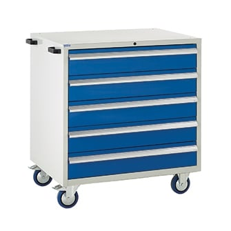 Mobile Euroslide 900 Drawer Cabinets - 900mm wide