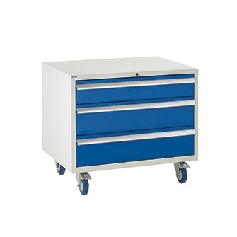 Under Bench Euroslide 900 Drawer Cabinets - 900mm wide