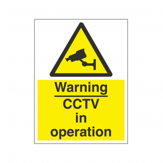 CCTV & Security Signs