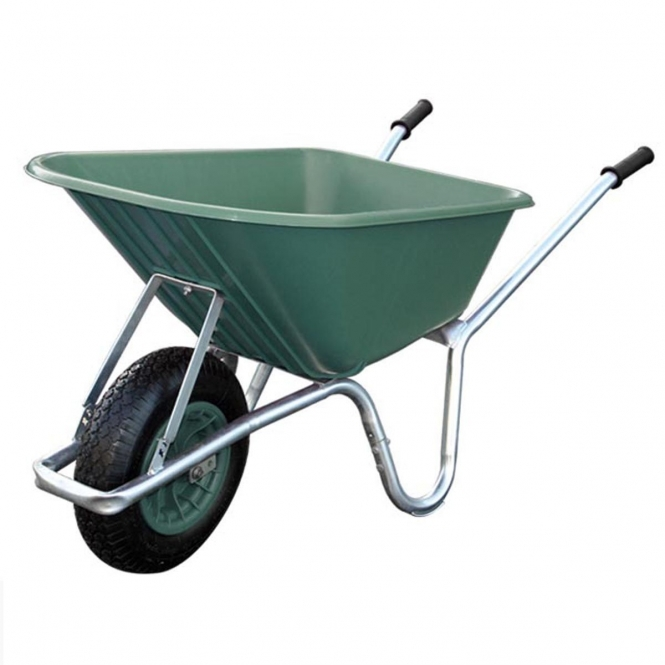 Mucker Plastic Wheelbarrow 100 Litre / 120kg Capacity