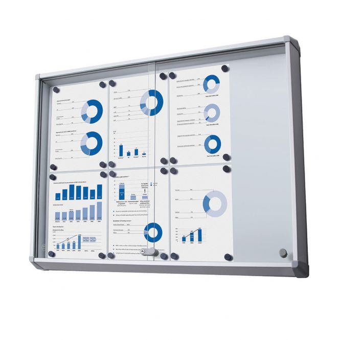 Large Lockable Notice Boards