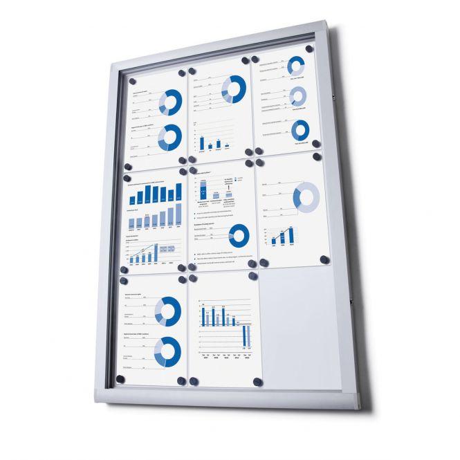 Lockable Dry-Wipe Notice Boards