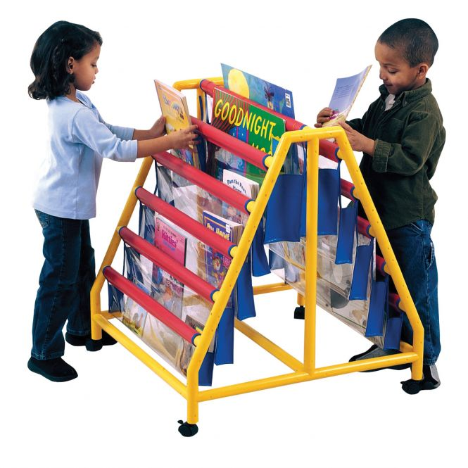 Book Display Units With 10 Pockets