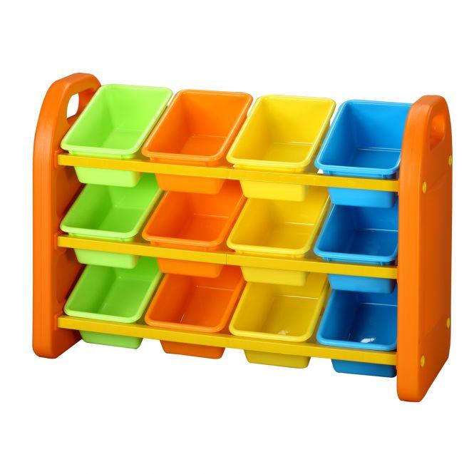 12 Bin Storage Organiser Units