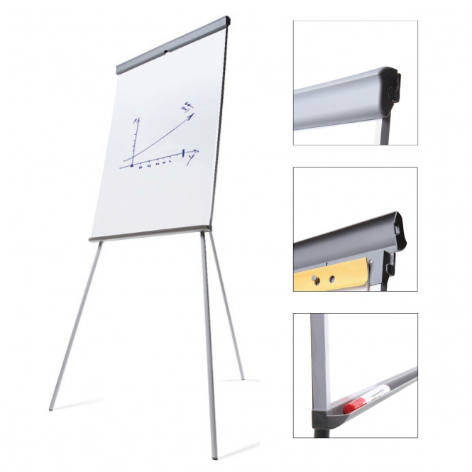 Magnetic Flipchart Whiteboard