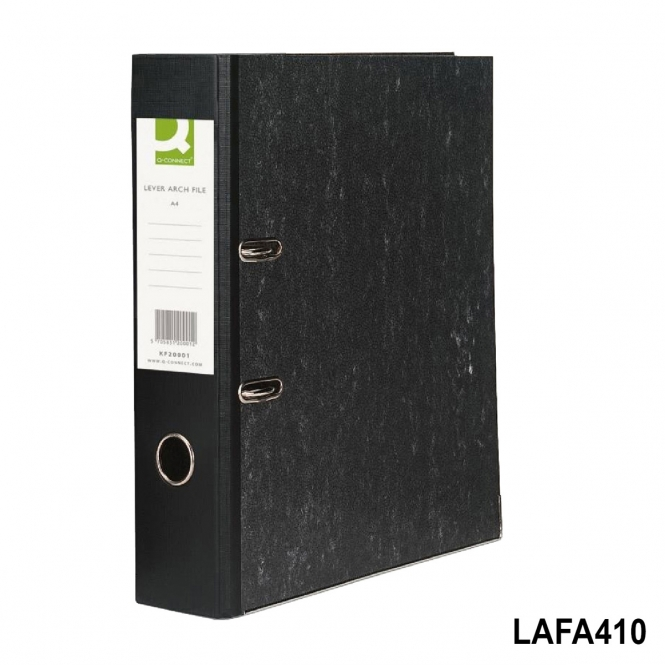 Lever Arch File A4 Pack Of 10 Black