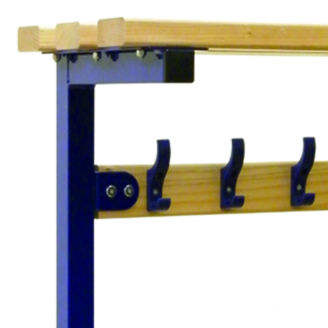 (Silver Frame) Top Shelf To Fit 2100mm Wide Bench - Ash