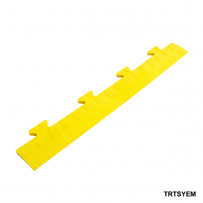 Studded Ramped Male Edge 8h x 502w x 70d mm Yellow