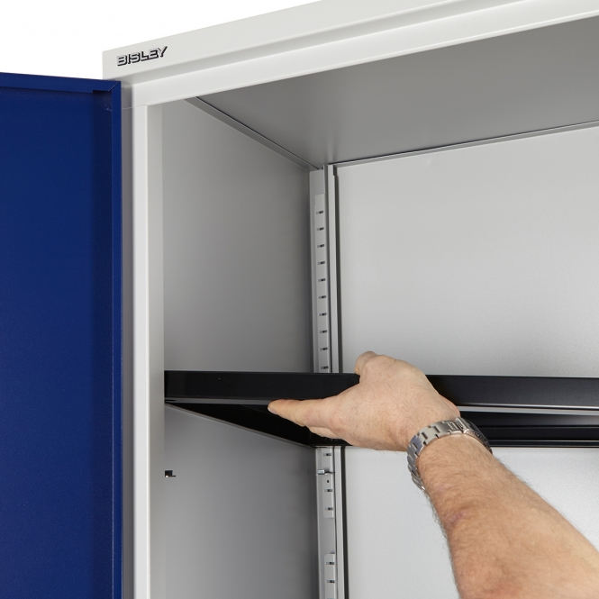 Bisley Office and Workplace Cupboard Extra Shelf 915w x 460d mm Black