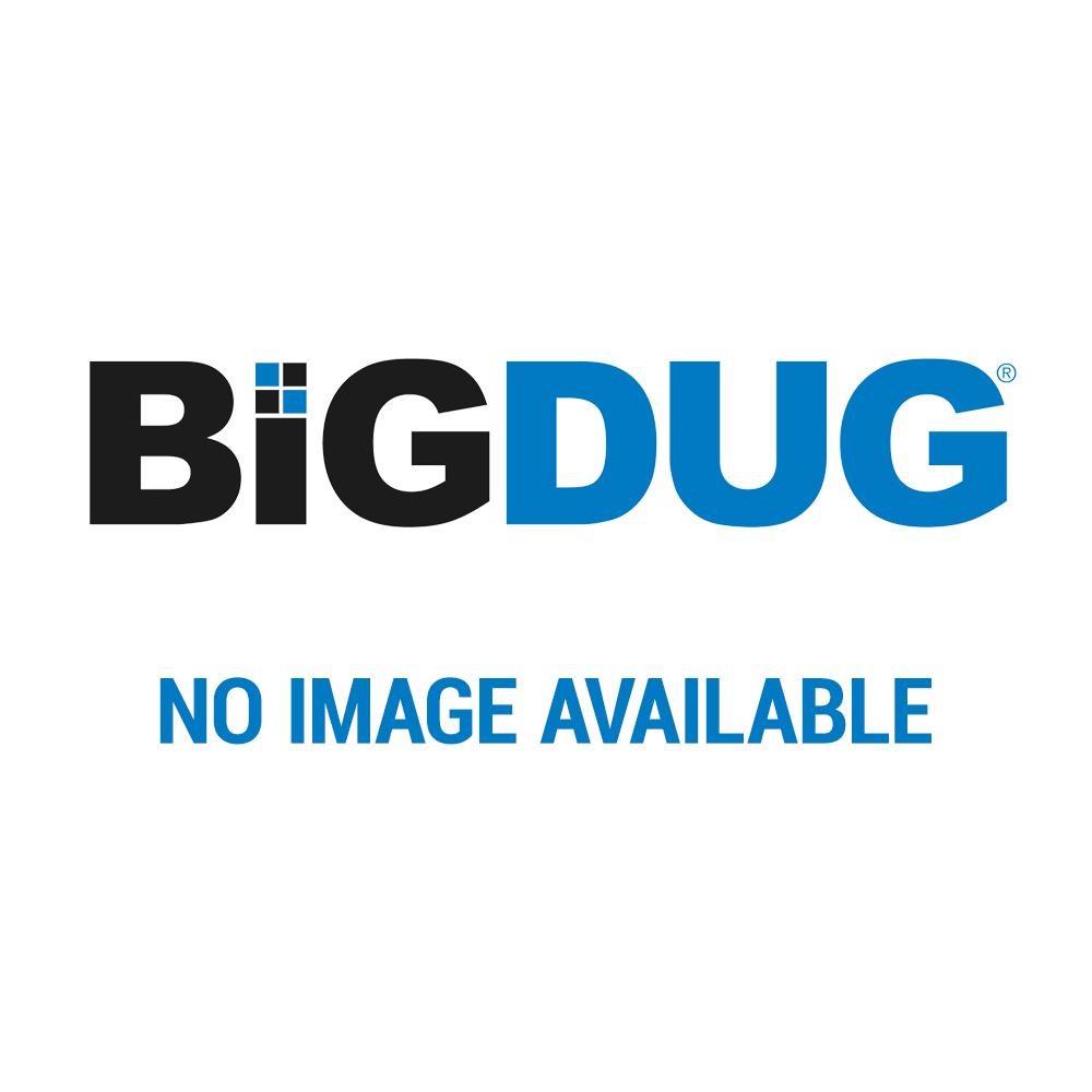 BiG340 Light Grey Compact Workbench With Melamine Shelves