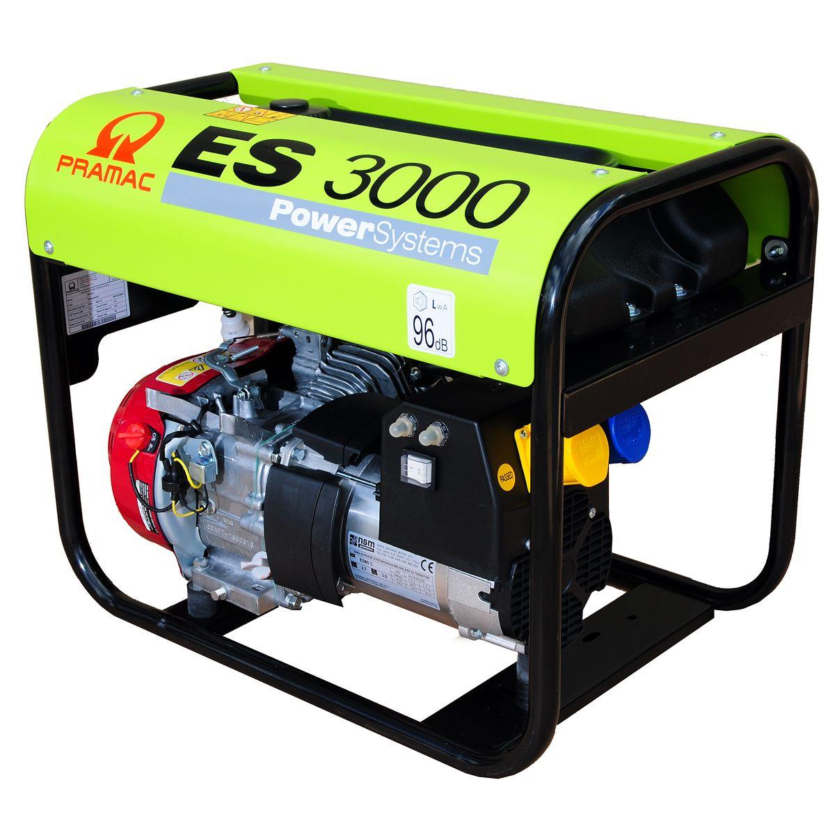 Generatore di corrente gruppo elettrogeno 2 9kw pramac for Gruppo elettrogeno honda usato