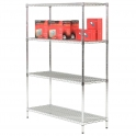 1370mm High Chrome Shelving