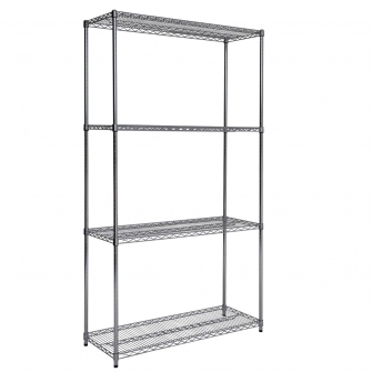 2130mm High Chrome Shelving