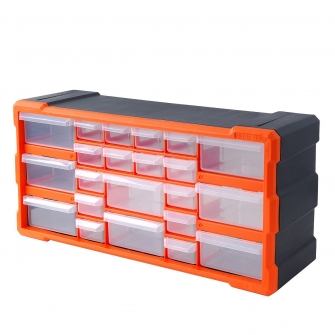 22 Drawer Hardware Storage Cabinet
