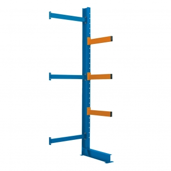 3 Metre Cantilever Racking Extension Bay 3000h x 900w x 1000d mm With 3 Arms