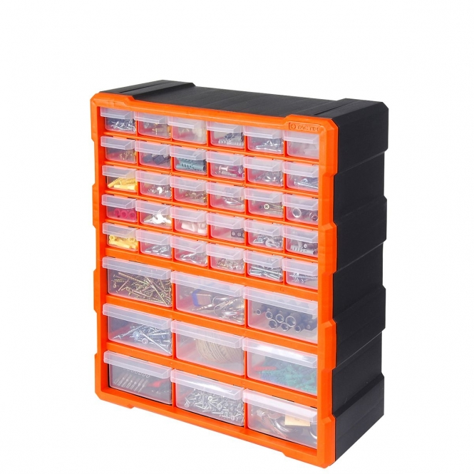 39 Drawer Hardware Storage Cabinet