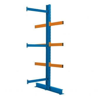 5 Meter Cantilever Racking Back to Back Extension Bay 5000h X 900w X 750d With 6 Arms