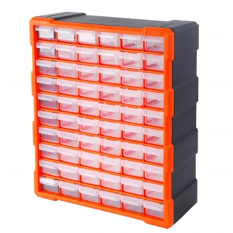 60 Drawer Hardware Storage Cabinet