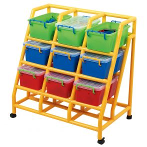 9 Bin Mobile Storage Units