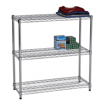 900mm High Chrome Shelving