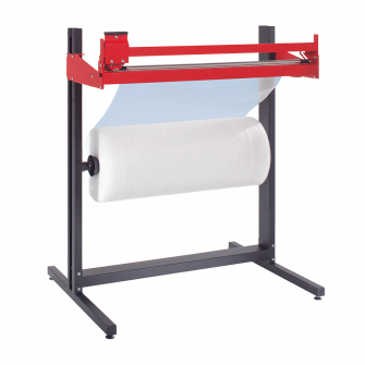 Adjustable Packaging Dispenser and Cutting Stand