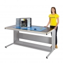 Anti Static Cantilever Workbench with Fibreboard Worktop