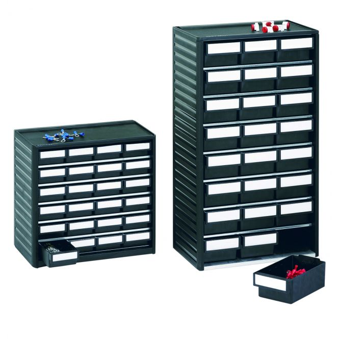 Anti Static Plastic Small Parts Storage Cabinets