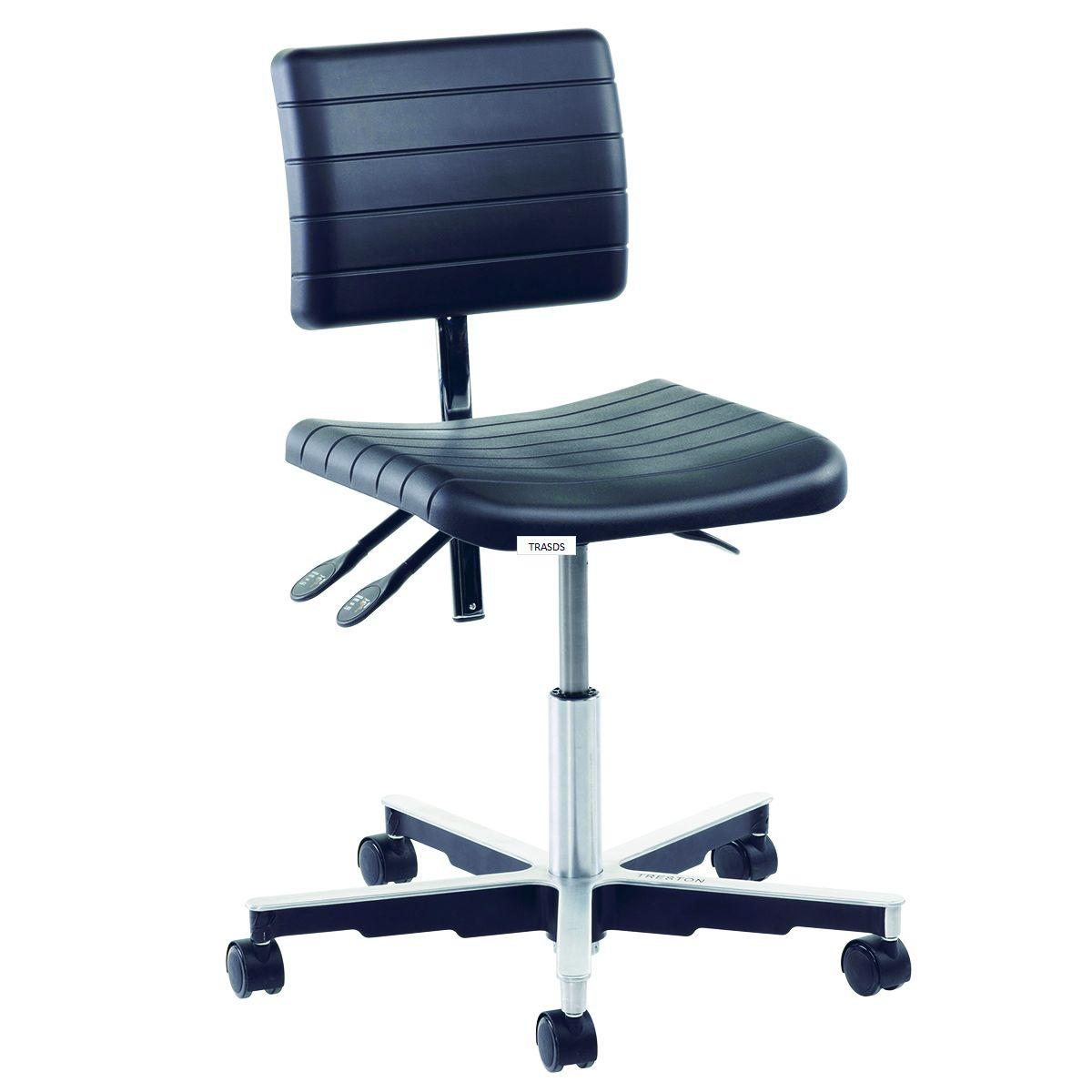 Anti Static Chairs : Anti static pu draughtsman chairs stool workshop