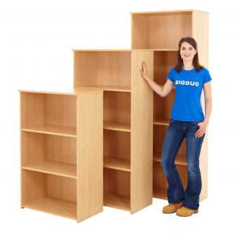 Beech Office Bookcases