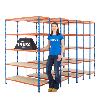 BiG200 4 Bay Shelving Mega Deals
