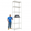 BiG340 Grey 3050mm High Shelving With Painted Steel Shelves