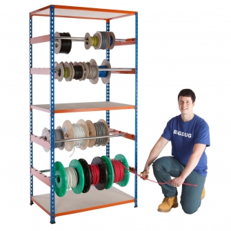 BiG340 Reel Rack