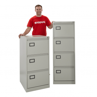 Bisley 4 Drawer Filing Cabinet