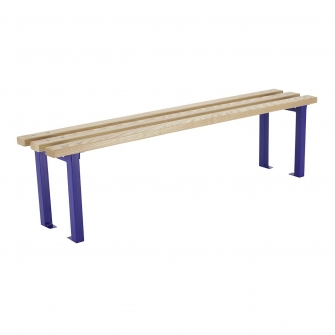 Blue Changing Room Benches