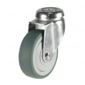 Bolt Hole 14 Series Castors With Synthetic Non-Marking Wheels