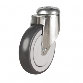 Bolt Hole 16 Series Castors With Synthetic Non-Marking Wheels