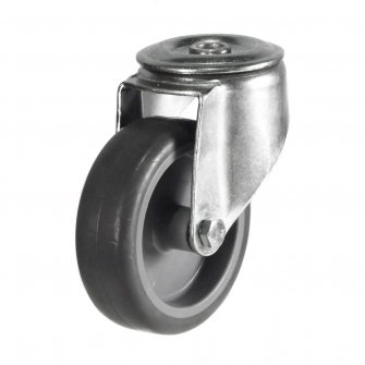 Bolt Hole 26 Series Castors With Synthetic Non-Marking Wheels