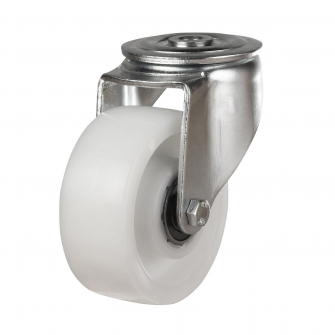 Bolt Hole 45 Series Castors With Nylon Wheels