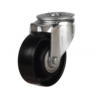 Bolt Hole 49 Series Castors With Cast Iron Wheels