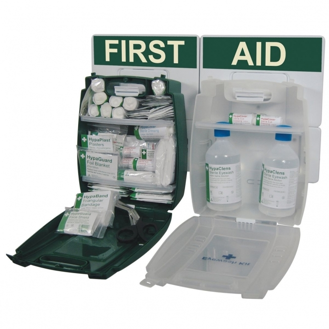 British Standard Workplace First Aid & Eyewash Point