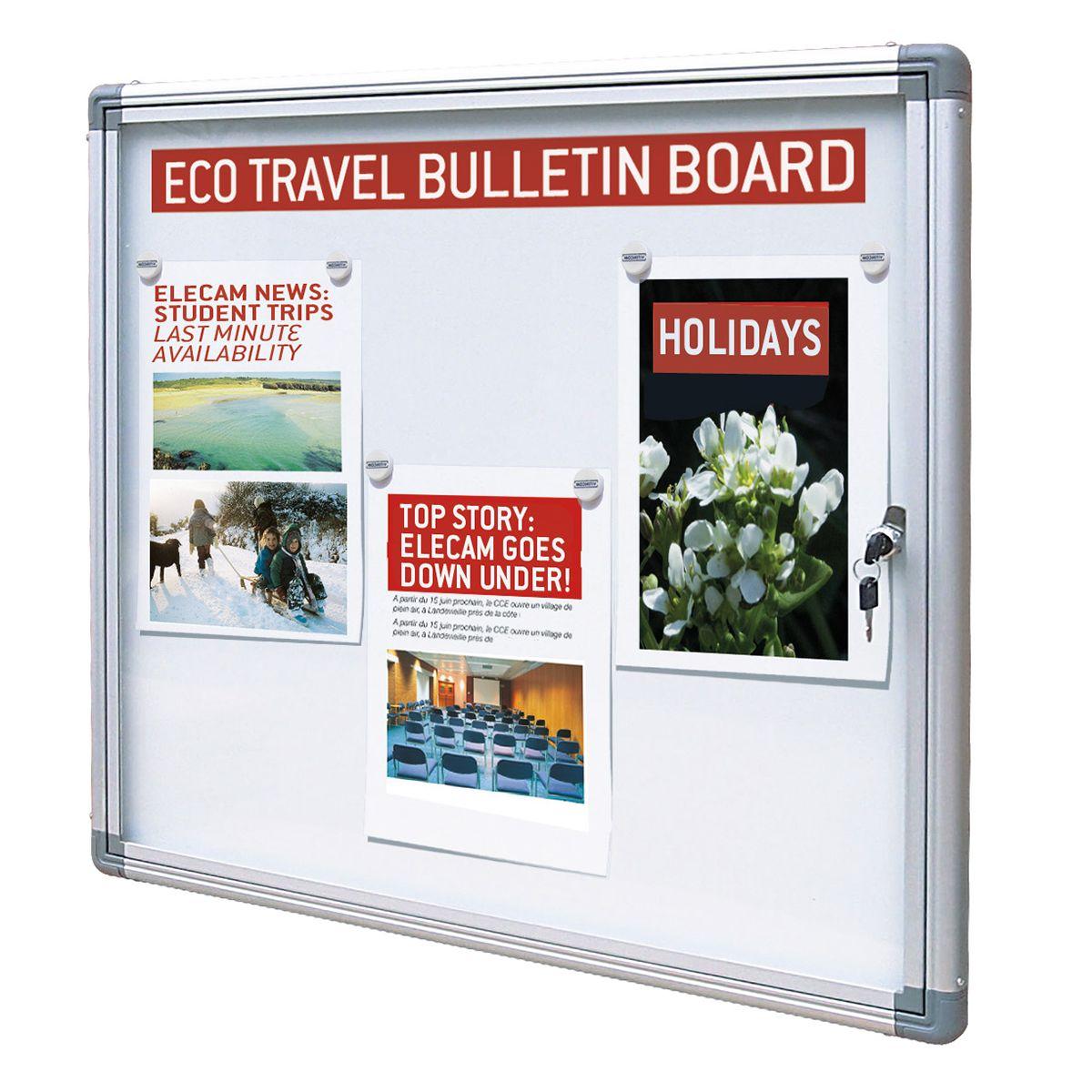 Budget display boards indoor notice board from bigdug uk for Office display board