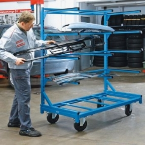 Cantilever Shelf Trolleys