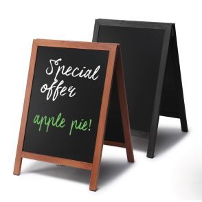 Chalkboard Pavement Signs