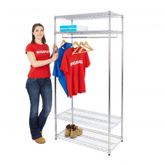 Chrome Garment Racks