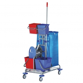 Cleaning Trolleys With Mop Unit - Standard